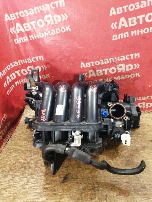 Коллектор впускной Mazda Axela BK5P ZY-VE 09.2007 ZY37-13-100B, рестайлинг под электро заслонку.