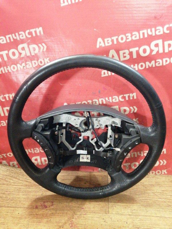 Руль Toyota Ipsum ACM26W 2AZ-FE 03.2004 Мультируль, кожа, состояние на фотографиях.