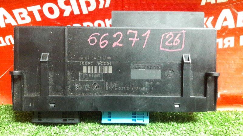 Блок управления Bmw 335I E91 N54B30A 11.2006 61.35 9131782-01, блок комфорта.
