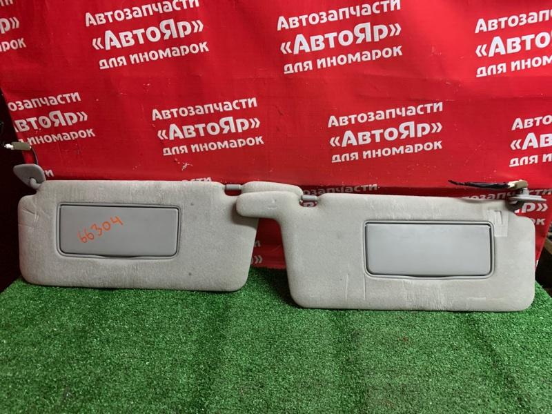 Солнцезащитный козырек Toyota Ipsum ACM21W 2AZ-FE 02.2002 Комплект 2шт., цвет серый.