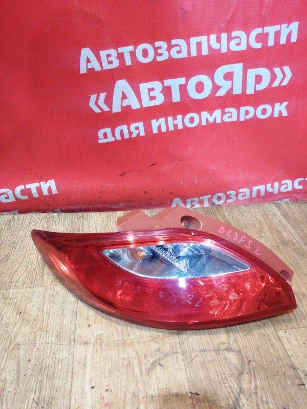 Стоп-сигнал Mazda Demio DE3FS ZJ-VE 09.2007 задний левый 5776, дефект корпуса