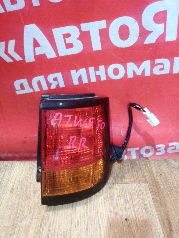 Стоп-сигнал Nissan Elgrand ATWE50 ZD30DDTI 12.2001 задний правый №47-91