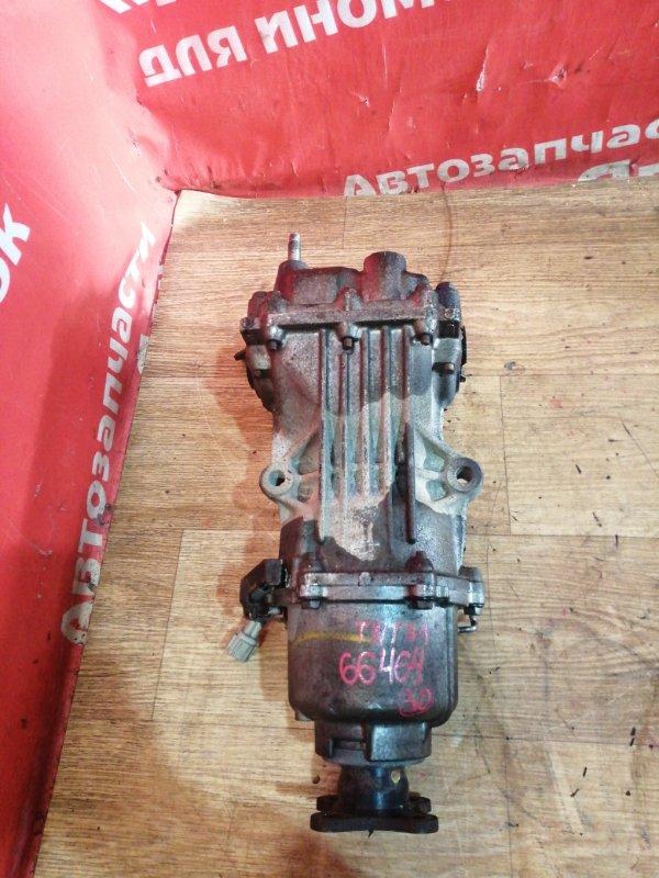 Редуктор Nissan X-Trail TNT31 QR25DE 10.2007 задний 38300JD610