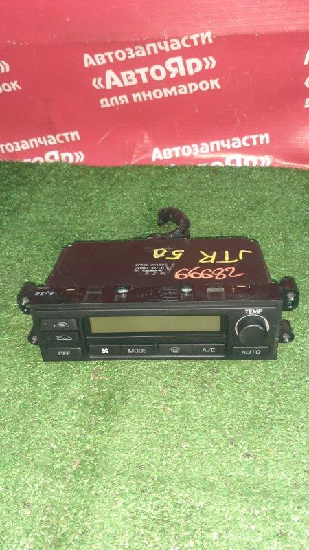 Блок управления климат-контролем Nissan Terrano Regulus JTR50 ZD30DDTI 10.1999 Электро, 27500-2W100.