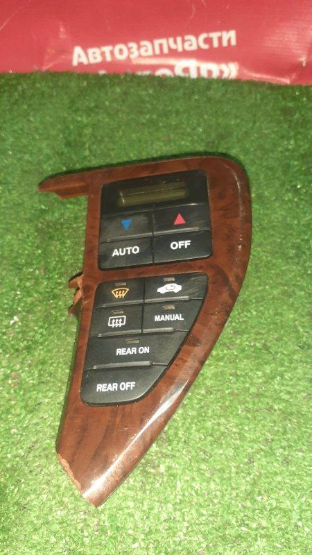 Блок управления климат-контролем Honda Odyssey RA7 F23A 2001 Состояние на фотографиях.