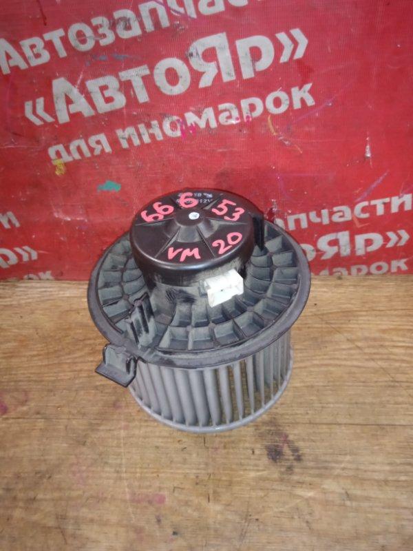 Вентилятор (мотор отопителя) Nissan Nv200 VM20 HR16DE 10.2009 2 контакта