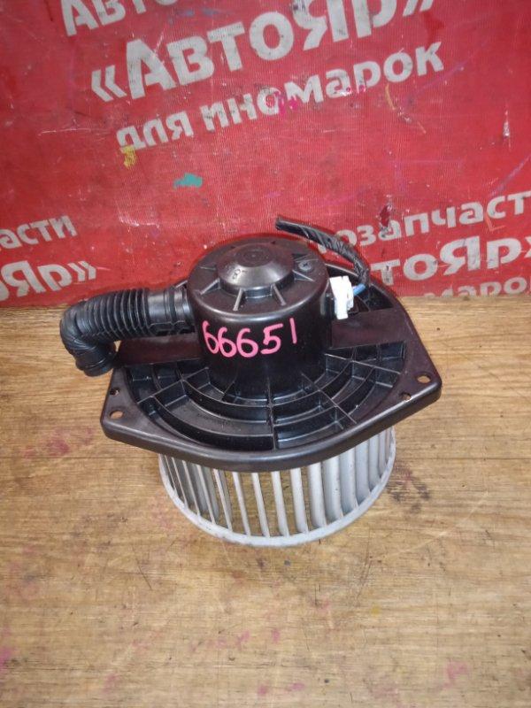 Вентилятор (мотор отопителя) Nissan Terrano Regulus JTR50 ZD30DDTI 10.1999 2 контакта