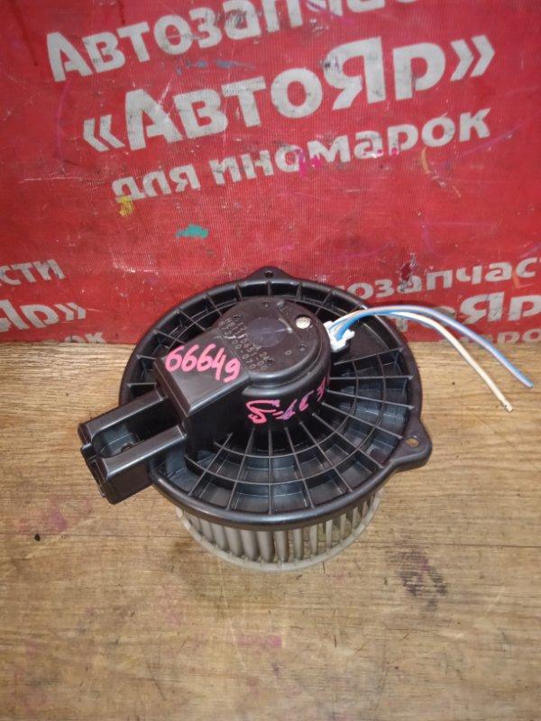 Вентилятор (мотор отопителя) Mazda Demio DE3FS ZJ-VE 09.2007 2 контакта