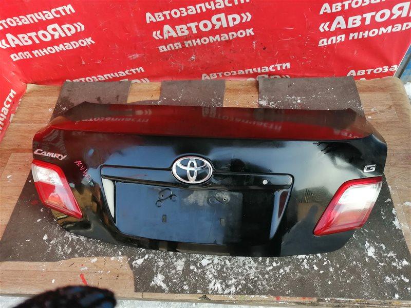 Крышка багажника Toyota Camry ACV40 2AZ-FE 10.2006 Вмятина
