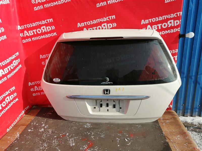 Дверь задняя Honda Odyssey RA7 F23A 2001 в сборе. код краски nh624p