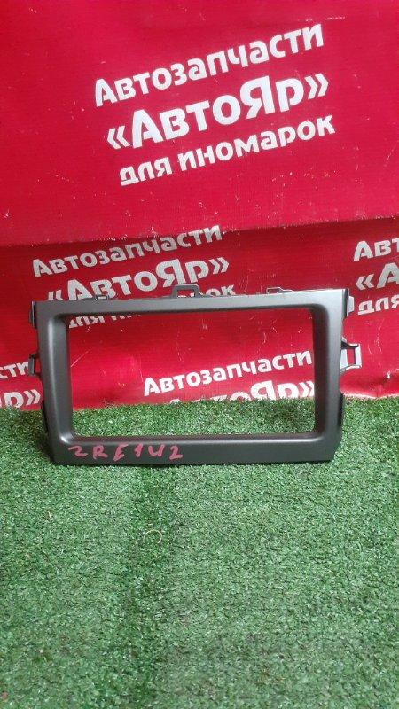 Рамка магнитофона Toyota Corolla Fielder ZRE142G 2ZR-FE 04.2007 55405-12a30