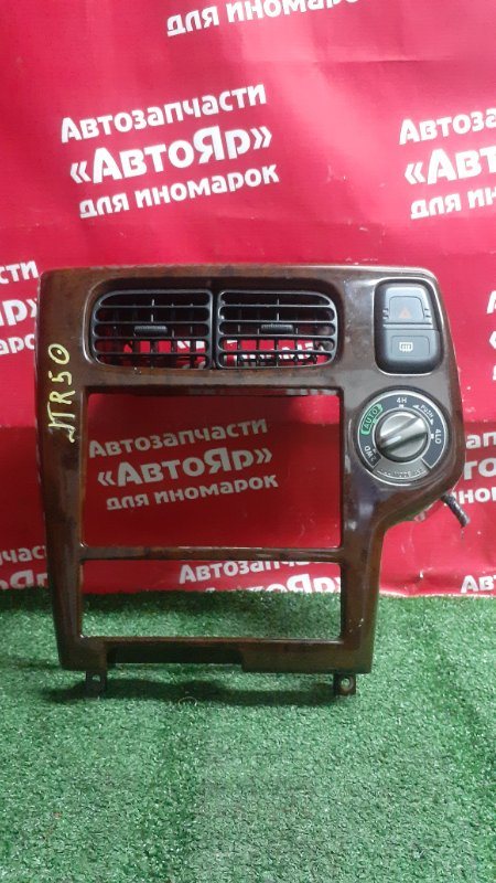 Рамка магнитофона Nissan Terrano Regulus JTR50 ZD30DDTI 10.1999 с аварийкой. регулятор 4wd