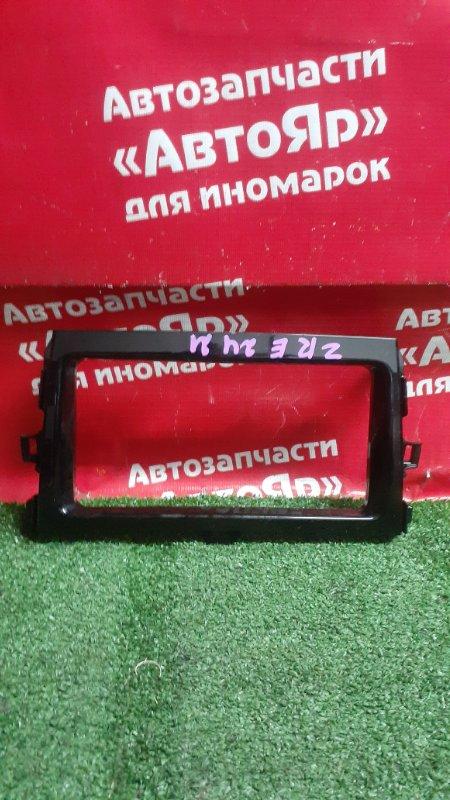 Рамка магнитофона Toyota Corolla Fielder ZRE142G 2ZR-FAE 10.2010