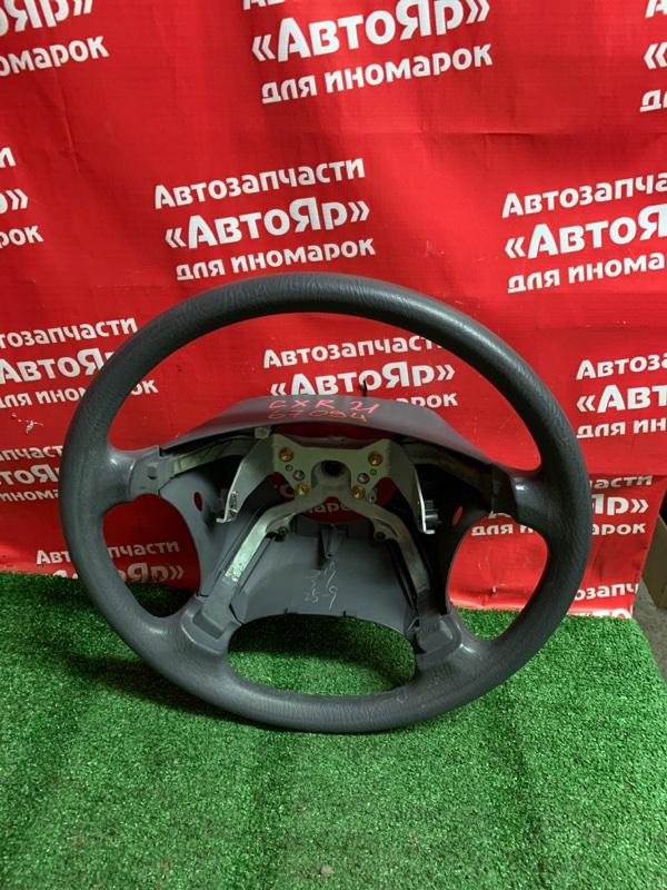 Руль Toyota Estima Emina CXR21G 3C-TE 03.1998 серый , 4 шпильки