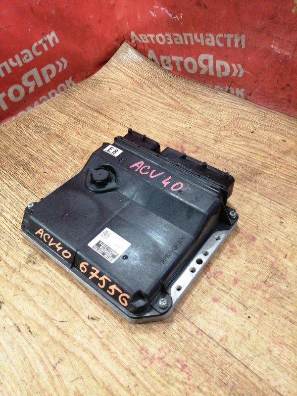Блок управления efi Toyota Camry ACV40 2AZ-FE 10.2006 89661-3T810