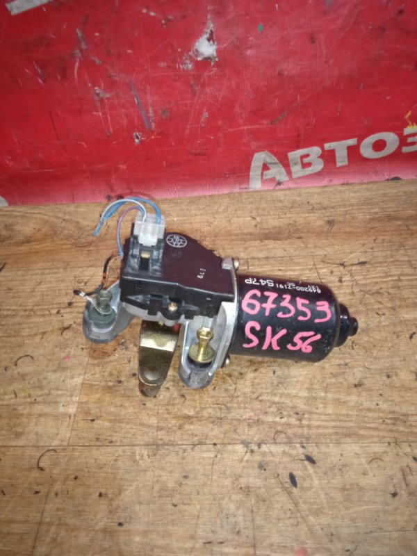 Механизм стеклоочистителя Mazda Bongo Brawny SK56V WL 06.2001 передний моторчик