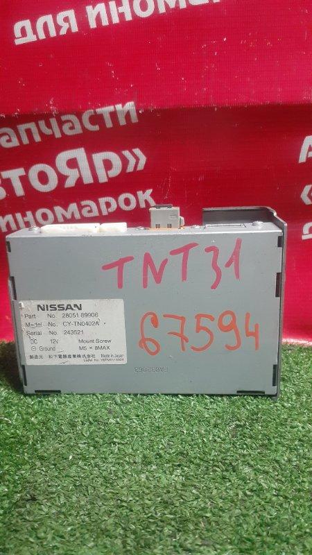 Электронный блок Nissan X-Trail TNT31 QR25DE 10.2007 28051 89906