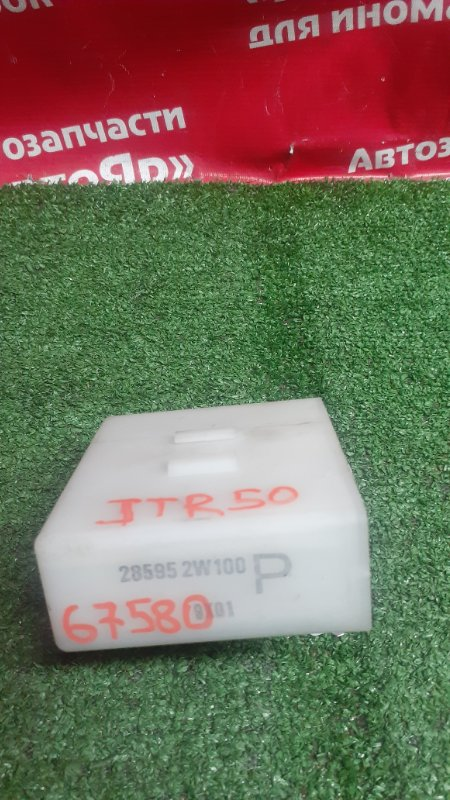 Блок управления дверьми Nissan Terrano Regulus JTR50 ZD30DDTI 10.1999 28595 2w100