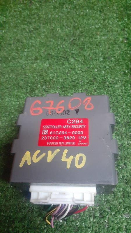 Блок управления Toyota Camry ACV40 2AZ-FE 10.2006 237000-3820