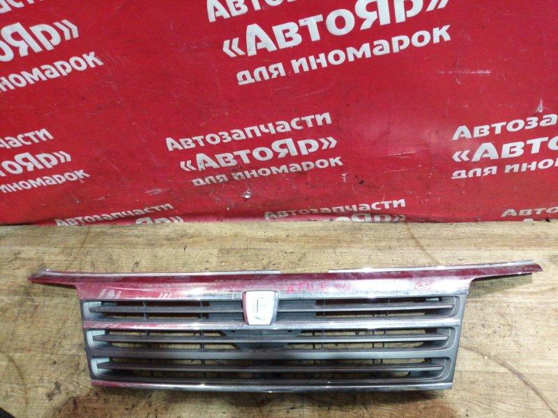 Решетка радиатора Nissan Elgrand ATWE50 ZD30DDTI 12.2001