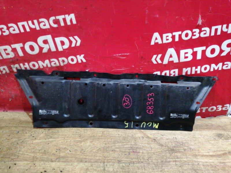 Защита двигателя Toyota Harrier MCU15W 1MZ-FE 03.1999 51441-48010. дефект 3х креплений