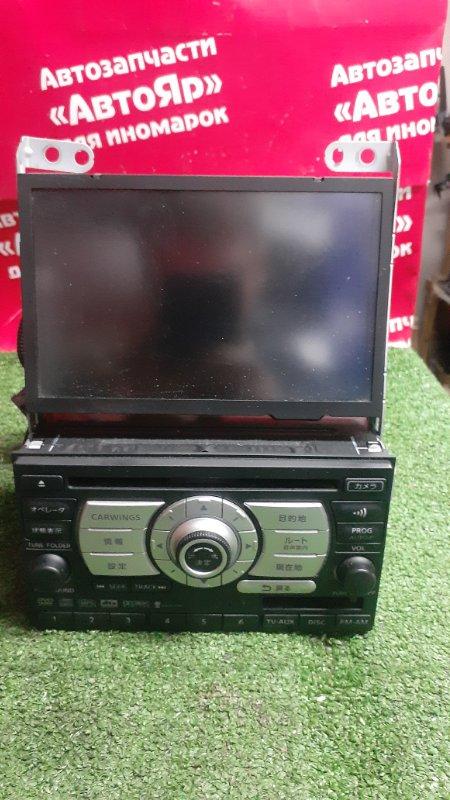 Магнитола Nissan X-Trail TNT31 QR25DE 10.2007 25915 jg00d + монитор 28091 jk01a
