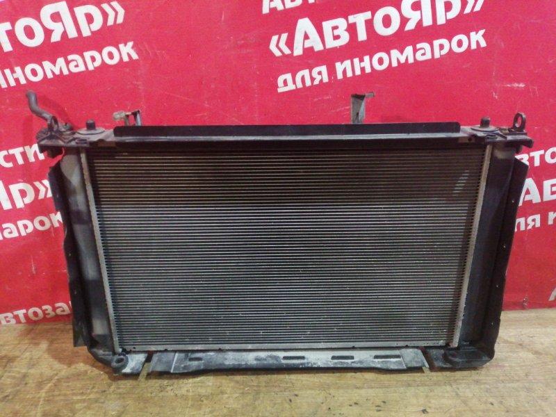 Радиатор основной Toyota Rav4 ACA31W 2AZ-FE 01.2006 2 диффузора