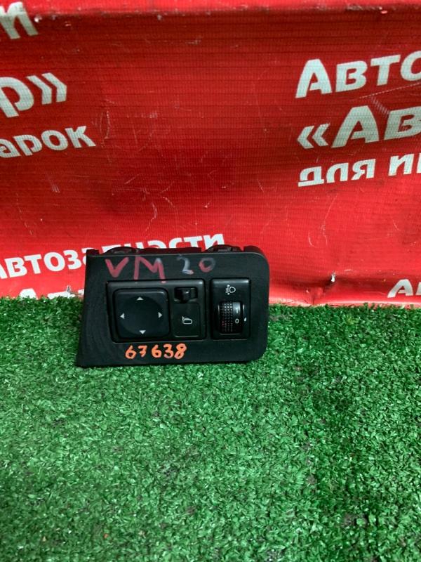 Блок управления зеркалами Nissan Nv200 VM20 HR16DE 10.2009 + регулировка фар