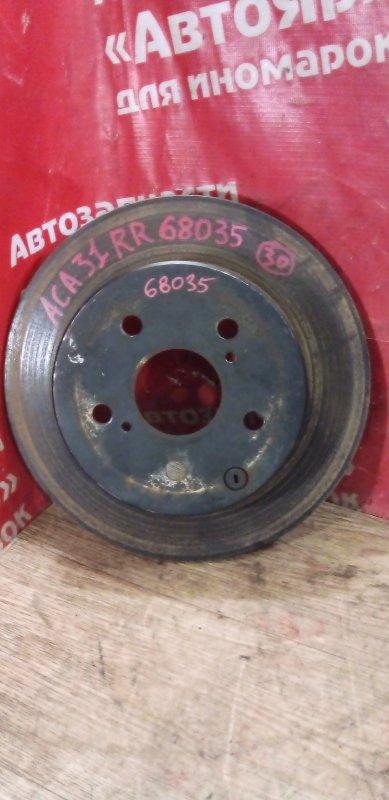 Диск тормозной Toyota Rav4 ACA31W 2AZ-FE 01.2006 задний правый