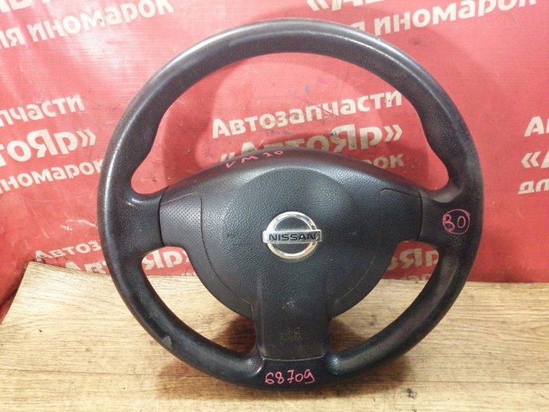 Руль Nissan Nv200 VM20 HR16DE 10.2009 с зарядом, в сборе с AIRBAG