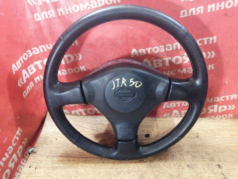 Руль Nissan Terrano Regulus JTR50 ZD30DDTI 10.1999 с зарядом, в сборе с AIRBAG