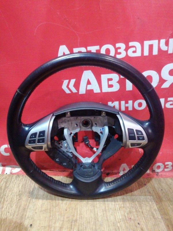 Руль Mitsubishi Lancer X CX4A 4B11 03.2009 кожанный. мультируль.