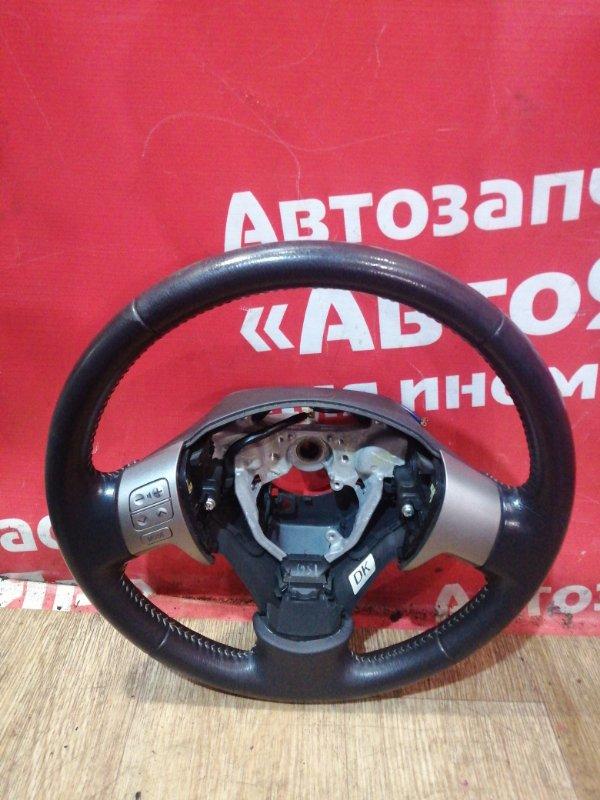 Руль Toyota Corolla Fielder ZRE142G 2ZR-FAE 10.2010 кожанный. мультируль.