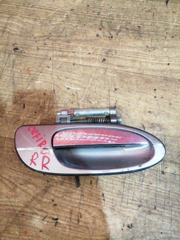Ручка двери внешняя Nissan Cefiro A33 VQ20DE задняя правая
