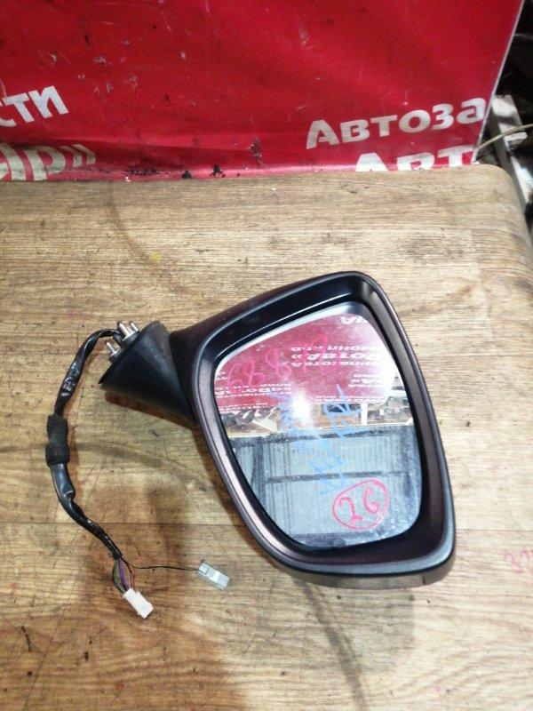 Зеркало Mazda Cx-5 KE2AW SH-VPTS 03.2012 переднее правое 1 фишка на 2 конт, 2 фишка на 8 контактов. с