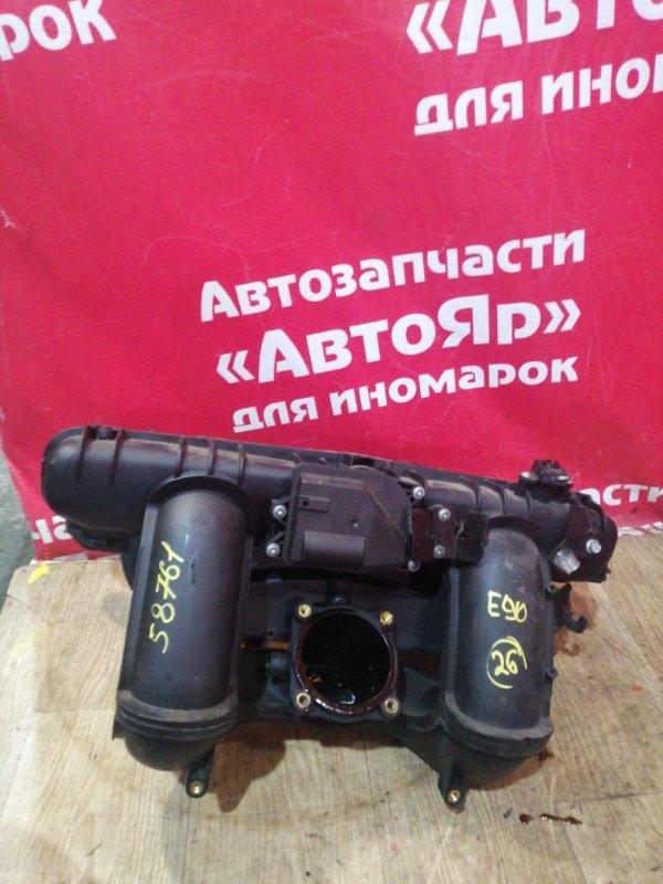 Коллектор впускной Bmw 323I E90 N52B25A 10.2005 с датчиками Disa, 11617560538, 11617579114