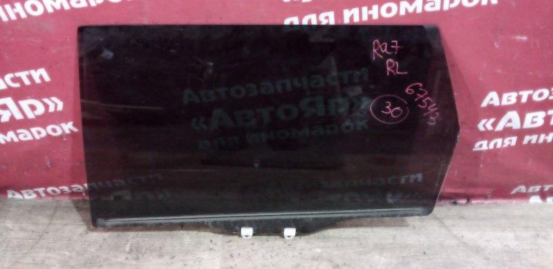 Стекло боковое Honda Odyssey RA7 F23A 2001 заднее левое