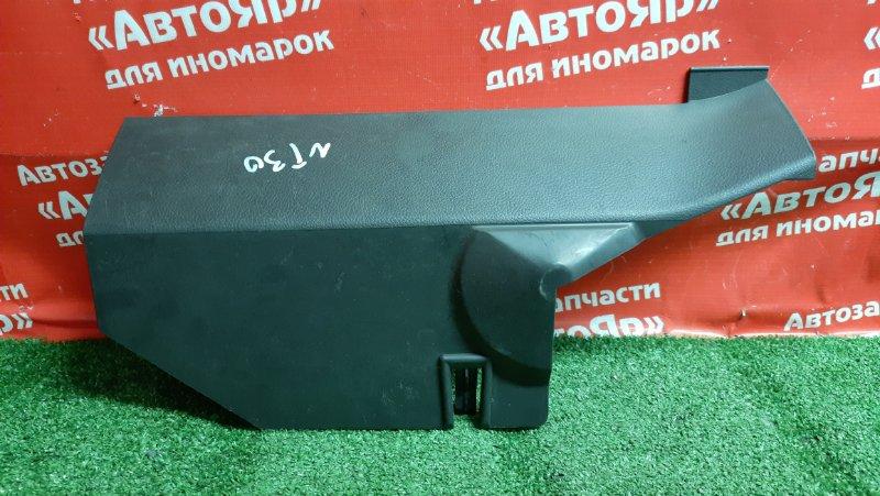 Накладка пластиковая в салон Nissan X-Trail NT30 QR20DE под печку. 68102 eq000