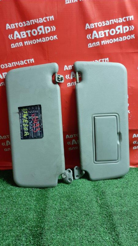 Солнцезащитный козырек Nissan Elgrand ATWE50 ZD30DDTI 09.2001 комплект 2шт