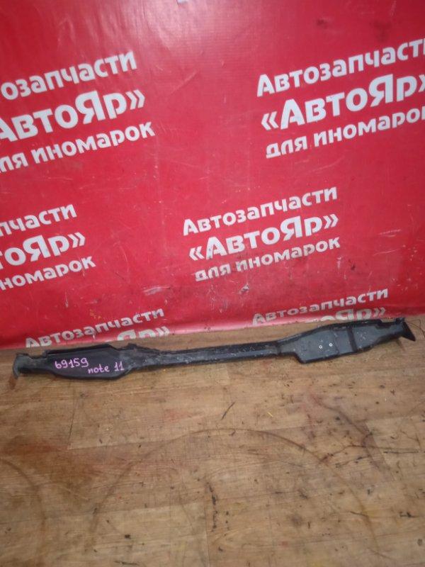 Усилитель бампера Nissan Note 2005 задний 79122 1u600, дефект
