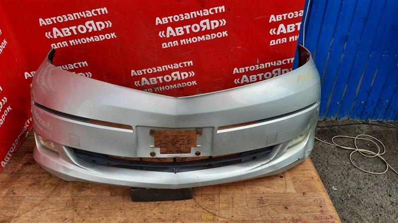 Бампер Toyota Alphard ATH10W 2AZ-FXE 04.2004 передний в сборе