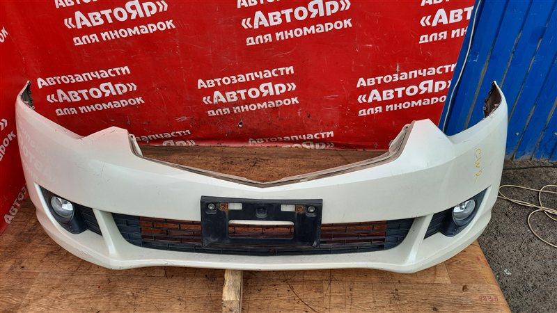 Бампер Honda Accord CU2 K24A 2009 передний в сборе. дорест, не большая трещинка.