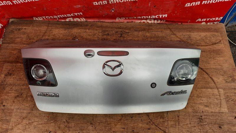 Крышка багажника Mazda Axela BK5P ZY-VE 05.2006 с камерой, цвет 22V.