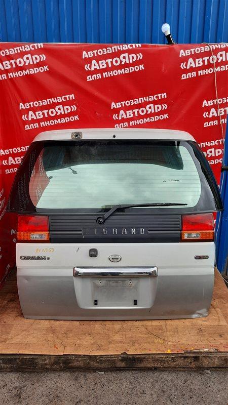 Дверь задняя Nissan Elgrand AVWE50 QD32ETI 12.1997 дефект на фото