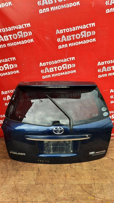 Дверь задняя Toyota Corolla Fielder ZRE142G 2ZR-FE 11.2006