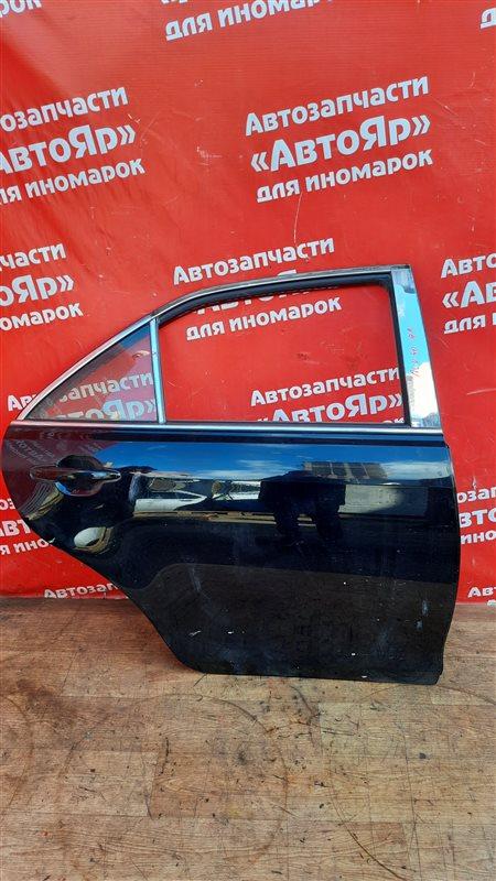 Стекло боковое Toyota Camry ACV40 2AZ-FE 10.2006 заднее правое опускное