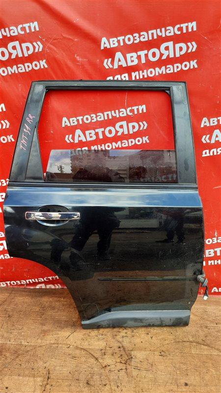 Дверь боковая Nissan X-Trail TNT31 QR25DE 10.2007 задняя правая в сборе