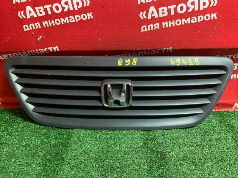 Решетка радиатора Honda Partner EY8 D16A 2001 состояние на фото