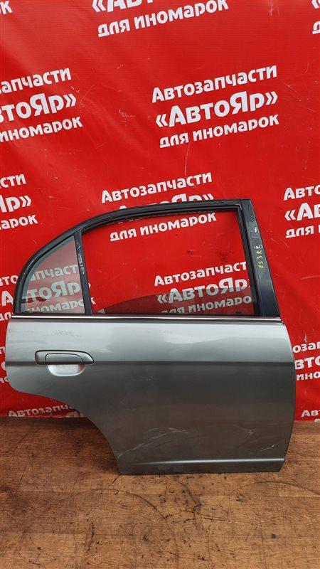Дверь боковая Honda Civic Ferio ES3 D17A 2005 задняя правая В сборе без петель