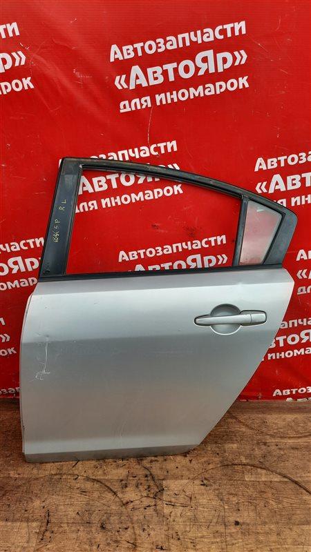 Дверь боковая Mazda Axela BK5P ZY-VE 05.2006 задняя левая в сборе. седан, код краски 22V.
